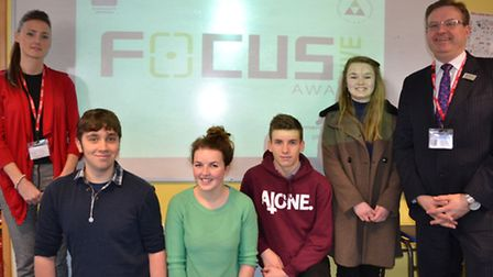 Sidmouth College youngsters taking part in the Employability Challenge