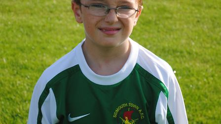 Jordan Fowler of Sidfmouth Warriors Under-11s