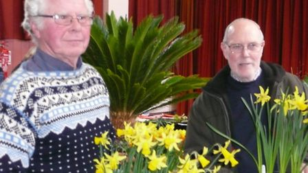 Ottery Gardening Club held its Spring Show in the Institute last weekend.