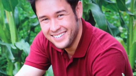 TV ethnobotanist James Wong will be appearing at Otter Nurseries on Wednesday, March 27.