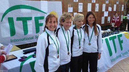 The GB team that did so well in Turkey