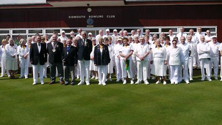 Sidmouth Bowls Open Day