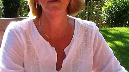 'A lovely person': Sheelagh Pollentine, who died on Monday, is pictured on holiday in France.