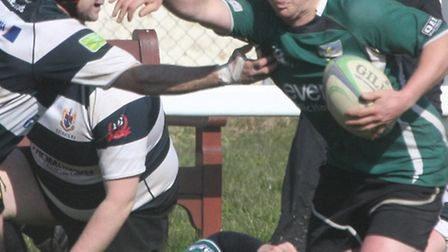 Sidmouth 2nds at home to Torquay. Photo by Terry Ife ref shsp 0649-15-13TI To order your copy of thi
