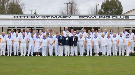 The Ottery St Mary Bowling Club on 2013 Open Day