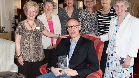 BBC reporter and crime writer, Simon Hall, visited the Sidmouth Probus Club to talk about his latest
