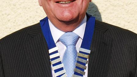 Ottery Mayor Glyn Dobson has been returned to the position for another year.