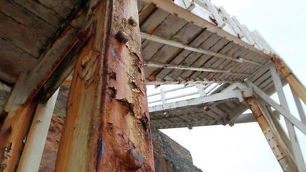 Jacob's Ladder showing signs of wear. Picture by Alex Walton. Ref shs 1201-19-13AW