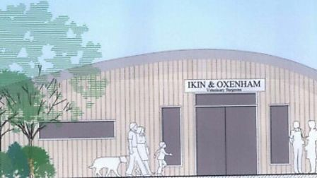 Plans for a new veteniary practice in Sidmouth have been submitted to the distrcit council.