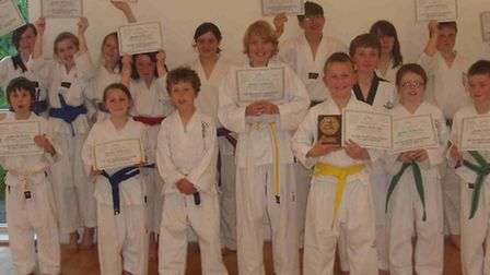 The Sidmouth TAGB students