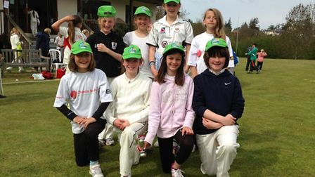 The Sidmouth Under-11 Girls cricket team
