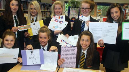 Year eight Sidmouth College students have been busy designing plans for a cafe as part of a language