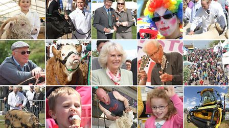 The 2013 Devon County Show. Photo montage by Simon Horn. Ref dcs 6231m-20-13SH To order your copy of
