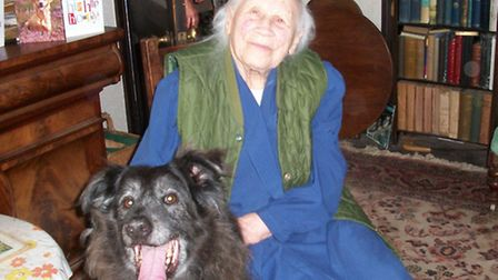 101 year old Gertrude Hindley, known to her friends as Topsy, who co-founded 41 years ago the Sidmou