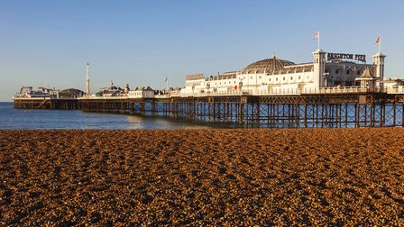 England, East Sussex, Brighton, Brighton Pier (Photo by: Prisma by Dukas/Universal Images Group via