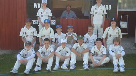 Sidmouth Colts before one of their tour matches in North Devon.
