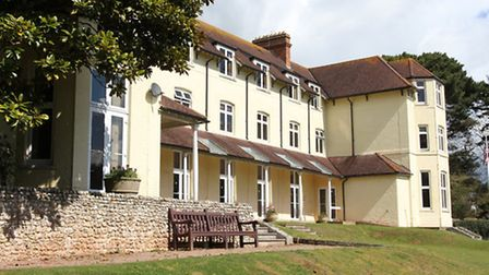 The EDDC offices at Knowle in Sidmouth as it is today. Photo by Simon Horn. Ref shs 7705-15-12SH To