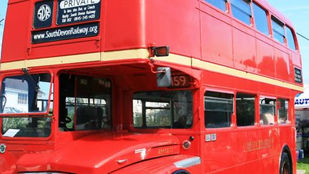 All aboard: An iconic Routemaster bus will be among the attractions.