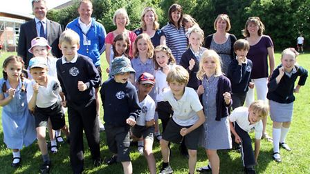 Sidmouth Primary pupils are all set for their annual fun run later this month, sponsored by Everys s