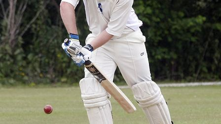 Ottery's Dan Flower on Saturday against Dartington. Photo by Terry Ife ref shsp 1404-25-13TI To orde