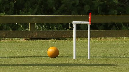 European Golf Croquet Championships were held at the Budleigh Salterton club attractiing players fro