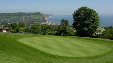 Sidmouth's course looking splendid in May 2013