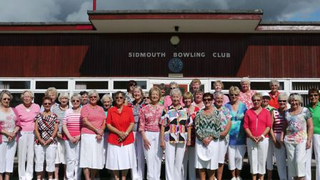 The Sidmouth ladies