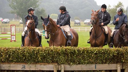 The show jumpers