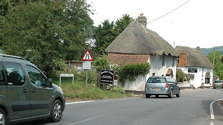 The A3052 is to be closed at Newton Poppleford in October for three weeks due to water mains replace