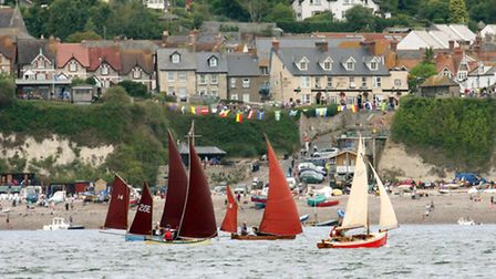 Beer Regatta Day in years gone by. Photo by Simon Horn Ref shb 8590-32-10SH