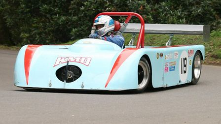 Crediton civil engineer Kevin Frost seeks Sports Libre class honours in his Ford Zetec engine KMD Sp