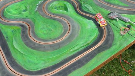 This Scalextric-style rally track is one of the attractions at this Sunday's Carnival Fun Day at Ott