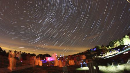 Meteor watch at The Norman Lockyer Obeservatory in Sidmouth was a huge success