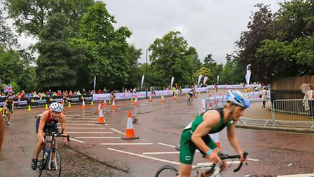 Action from the World Championships in London which saw two East Devon athletes taking part.