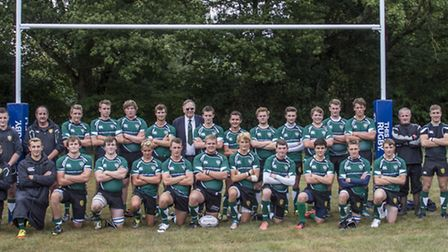 Sidmouth Coilts 2013 team lineup at the clubs new pitch