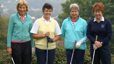 Peggy Bell Finalists; Penny Ashby and Maria Clapp vs Yvonne Anning and Sheila Thomson