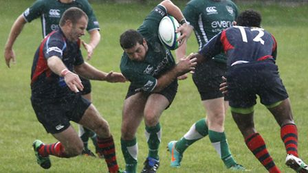 Sidmouth 2nds at home to Devonport 2nds. Photo by Terry Ife ref shsp 6505-37-13TI To order your copy