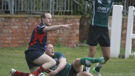 Sidmouth 2nds at home to Devonport 2nds. Photo by Terry Ife ref shsp 6500-37-13TI To order your copy