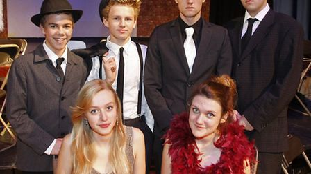 Kings school in Ottery production of Bugsy Malone. Photo by Terry Ife ref sho 7841-43-13TI To order