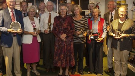 The Sidmouth Croquet Club winners