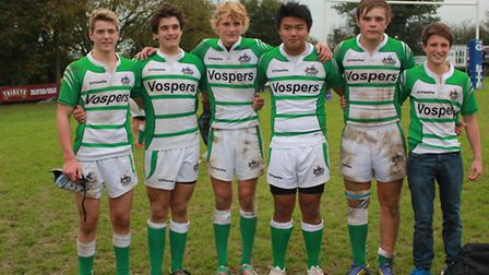 The Sidmouth six called up to the Devon Under-16 squad