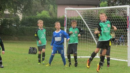 Sidmouth Warriors Under-9 action