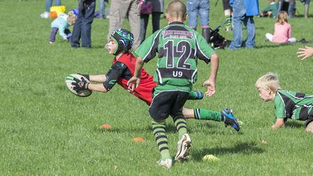 Sidmouth U9 action