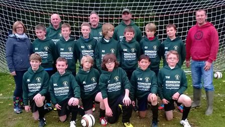 Sidmouth Town Junior Vikings U12 Raiders and their coaches would like to say a big thank you to 'Sid