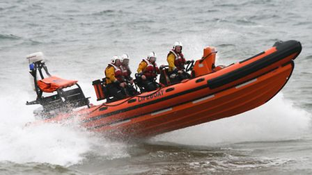 The Sidmouth lifeboat. Picture by Alex Walton. Ref P0299-31-09AW