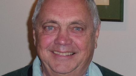 Sidmouth Golf Club's snooker star in the club's win over the Snooker Club, Nigel Sharp.