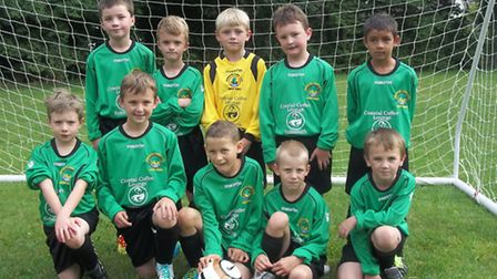 The Sidmouth Warriors Under-8s