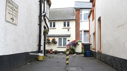 Ebdon Court, Sidmouth. Photo by Simon Horn. Ref shs 6571-33-13SH To order your copy of this photogra