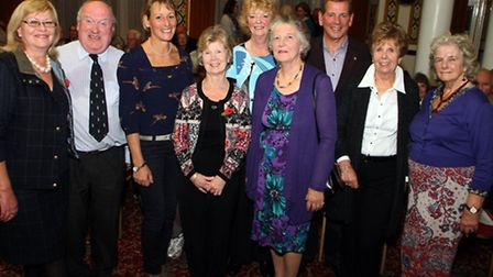 Olympian Mary King gave a talk to an audience at the Knowle to raise funds for Sidmouth Hospital Com