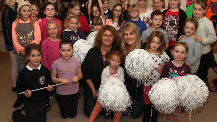 The new Sidmouth Majorettes troupe met for the first time at the Sidmouth Youth Centre. Picture by A